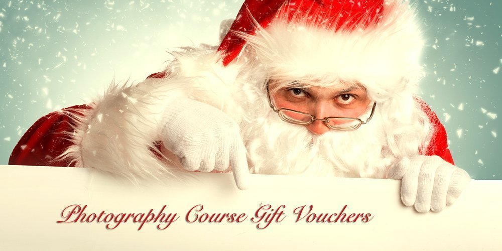Christmas gift vouchers for photography courses in Essex and Cambridge